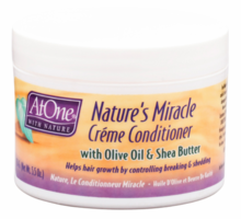 At One With Nature Miracle Creme Conditioner 5.5 oz