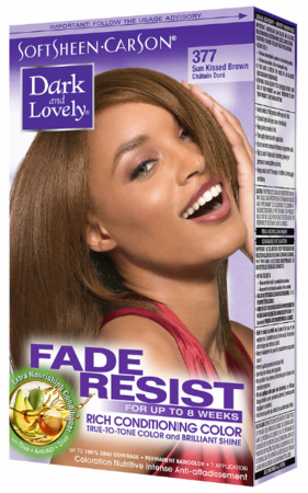Dark and Lovely Fade Resist Hair Color Sun Kissed Brown 377
