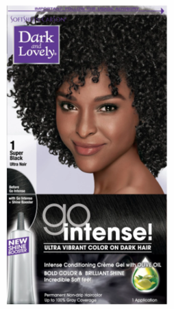 Dark And Lovely Go Intense Permanent Hair Color Super Black 1