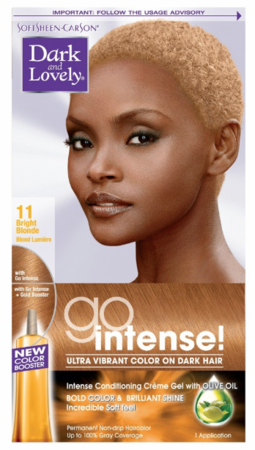 Dark And Lovely Go Intense Permanent Hair Color Bright Blonde 11