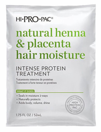 Hi Pro Pac Henna Placenta and Vitamin E Intense Protein Treatment 1.75 oz