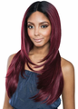 Mane Concept Brown Sugar BSD2609 Cleveland Ari Lace Front Wig Human Hair New 2019