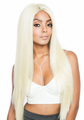 "Mane Concept Melanin Queen Yaky Sleek 30"" Frontal Lace Front Wig Human Hair New 2019"