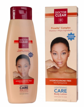 Doctor Clear Lightening Care Body Lotion Double Strength 14oz