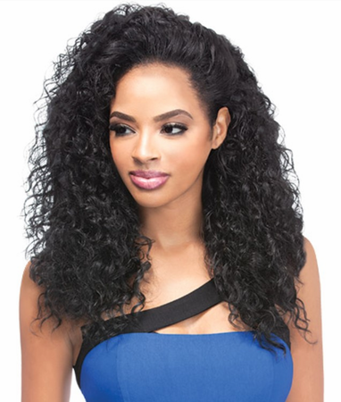 Outre Quick Weave Bahamas Half Wig Synthetic