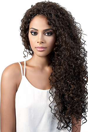 Motown Tress L.Rhona Swiss Lace Front Wig Synthetic
