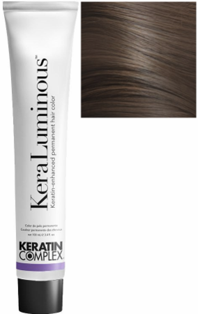 Keratin Complex KeraLuminous Keratin-Enhanced Permanent Hair Color 7.23/7VG Medium Violet Golden Blonde 3.4 oz 2019