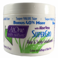 At One with Nature with Aloe Vera Super Gro 7.75 oz