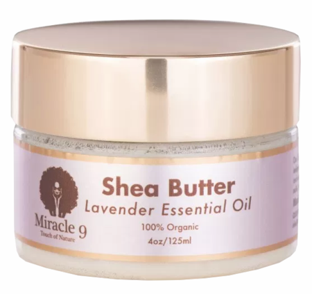 Miracle 9 Lavender Infused Shea Butter 4 oz
