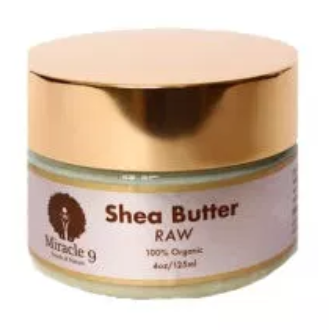 Miracle 9 Raw Shea Butter 4 oz
