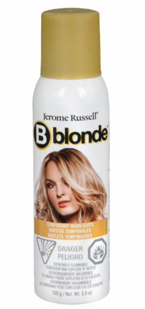 Jerome Russell B Blonde Natural Blonde Temporary Highlight Spray 3.5 oz DISC
