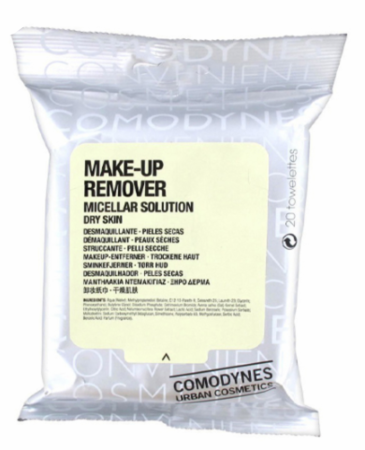 Comodynes Make Up Remover Micellar Dry 20 towelettes