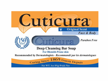Cuticura Original Deep Cleansing Soap 3 oz