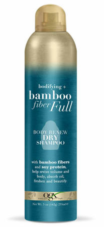 OGX Bodifying + Bamboo Fiber Full Body Renew Dry Shampoo 5 oz