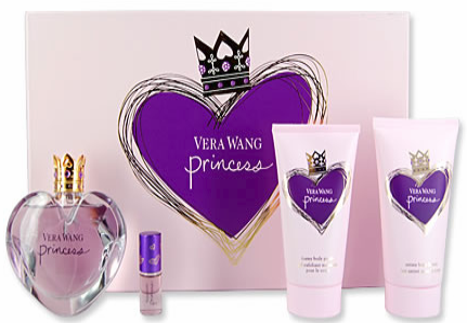 Princess By Vera Wang For Women 4 Piece Fragrance Gift Set