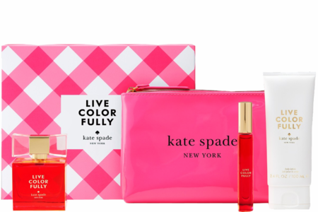 Live Colorfully by Kate Spade New York for Women Fragrance 4 Piece Gift Set 2019