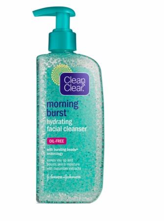 Clean & Clear Morning Burst Hydrating Facial Cleanser 8 oz 2019