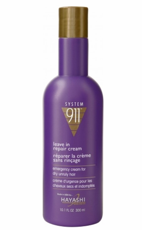 Hayashi System 911 Leave In Repair Cream 10.1 oz