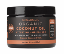 Sunaroma Organic Coconut Oil Hair Pomade 5.5 oz