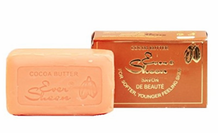 Ever Sheen Cocoa Butter Beauty Soap 7 oz