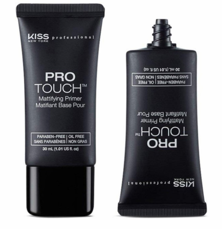 Kiss New York Professional Pro Touch Face Primer Mattifying KFP01 1.01 oz
