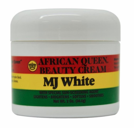 African Queen MJ White Beauty Cream 2 oz