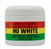 African Queen MJ White Beauty Cream 4 oz