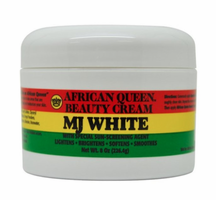 African Queen MJ White Beauty Cream 8 oz