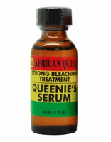 African Strong Bleaching Treatment Queen Queenie's Serum 1 oz