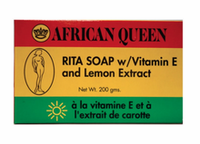 African Queen Rita Soap w/Vitamin E and Lemon Extract 7 oz