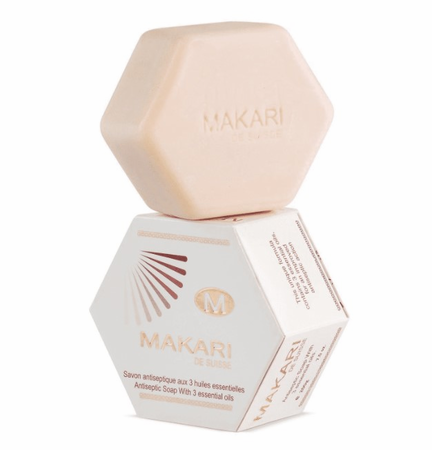 Makari Antiseptic Soap with 3 Essential Oils 7 oz / 200 g DISC