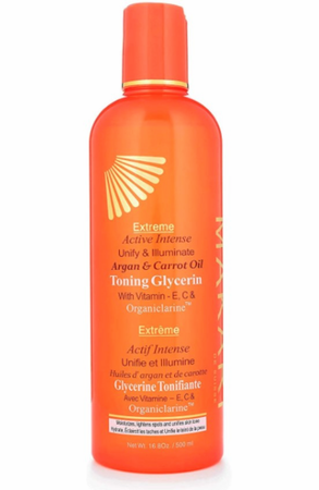 Makari Extreme Argan & Carrot Oil Active Intense Tone Boosting Body Glycerin 16.8 oz / 500 ml