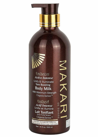 Makari Exclusive Tone Boosting Body Milk 16.8 oz / 500 ml