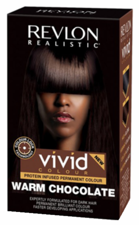 Revlon Realistic Vivid Colour Protein Infused Permanent Color Hair Warm Chocolate