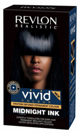 Revlon Realistic Vivid Colour Protein Infused Permanent Color Hair Midnight Ink