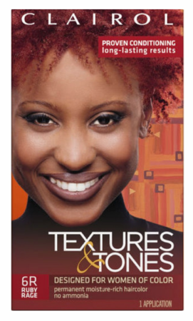 Clairol Textures & Tones Permanent Creme Hair Color 6R Ruby Rage