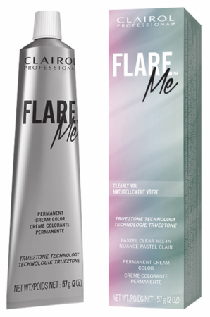 Clairol Flare Me Permanent Cream Hair Color Clearly You 2 oz