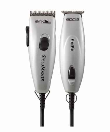 Andis Professional Pivot Motor Combo Adjustable Blade Clipper/Trimmer 23965