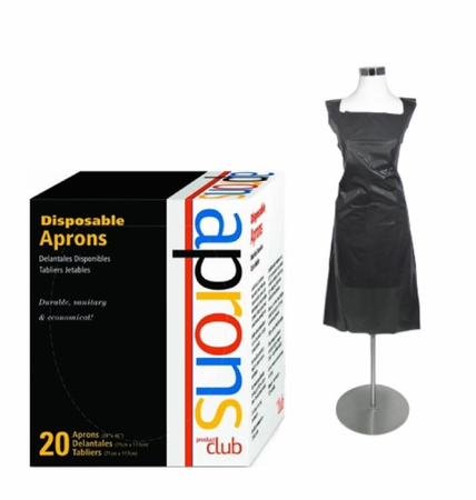 Product Club Disposable Aprons 20 Ct.