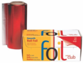 "Product Club Smooth Foil Roll Red 5""x250'"