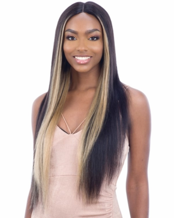 Shake N Go Naked 100% Human Hair 5 Inch C-Part Lace Front
