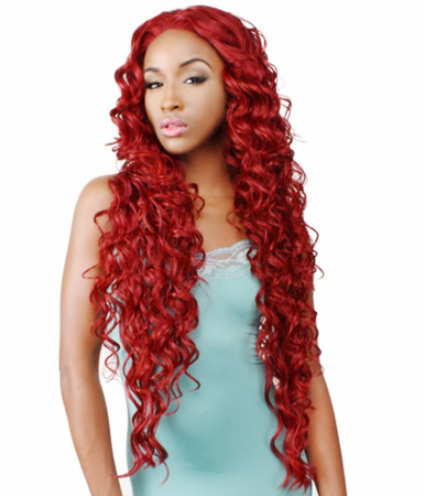 R&B Collection 21 Tress HL-Brown Lace Front Wig Human Hair Blend
