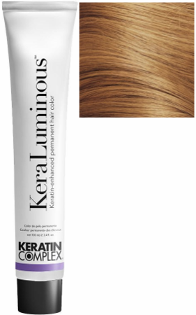 Keratin Complex KeraLuminous Keratin-Enhanced Permanent Hair Color 8.03/8NG Light Natural Golden Blonde 3.4 oz
