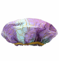 Betty Dain Splash of Gold Shower Cap XL 5190