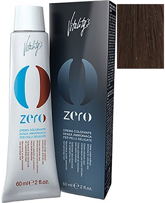 Vitalitys Zero Permanent Cream Hair Color 6/0 Dark Blonde 2.0 oz 2019