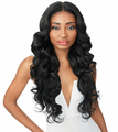 "Outre Lana Swiss Lace Wig Hand-Tied 13"" x 6"" Synthetic New"