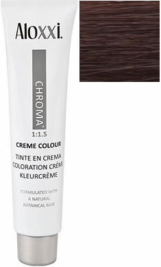 Aloxxi Chroma Permanent Creme Colour 5GR Brilliant Bergamo 2 oz
