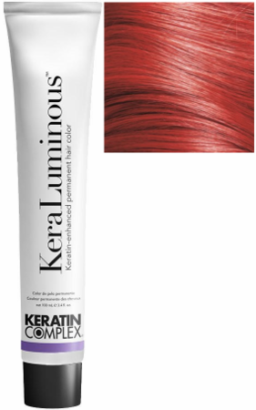 Keratin Complex KeraLuminous Keratin-Enhanced Permanent Hair Color .66/RR Intense Red 3.4 oz 2019