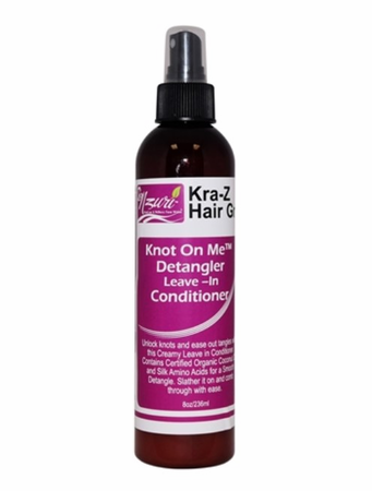 Nzuri Knot On Me Detangler and Leave-In Conditioner 8 oz