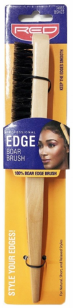 Red by Kiss Edge 100% Boar Brush BSH23